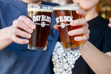 T-shirt and a pint deal at Day BLock Brewing Company