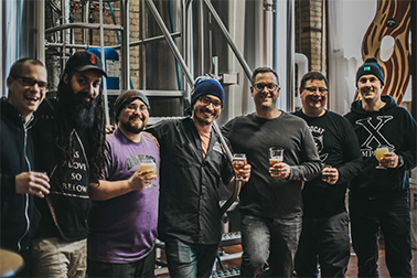 collaboration between our brewers and the band in our minneapolis brewery