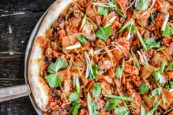 K-pop pizza brings in korean flavors
