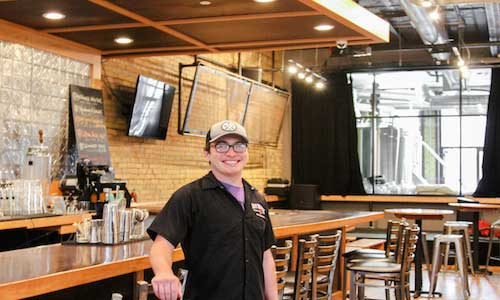 Day Block's taproom located downtown Minneapolis