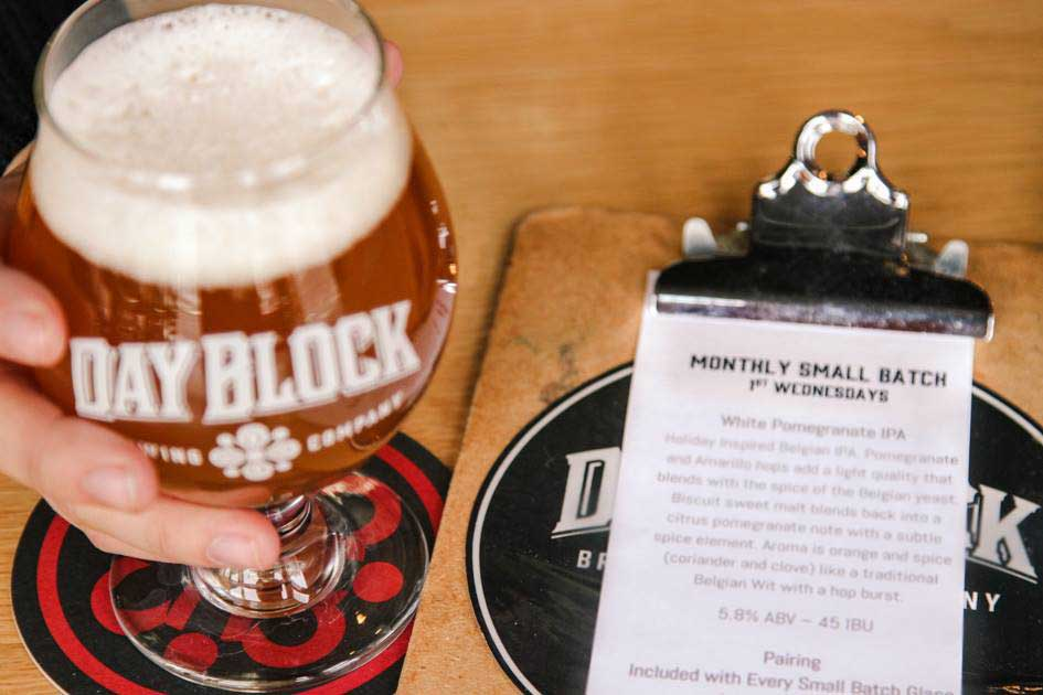 Monthly Small Batch at Day Block Brewing downtown Minneapolis