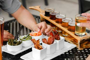 bacon flight and beer flight downtown minneapolis