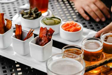 pickle flight and bacon flight
