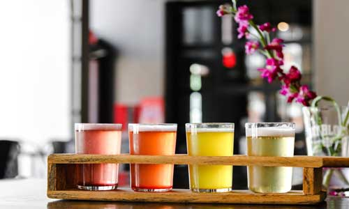 berliner weisse flight of minnesota beer