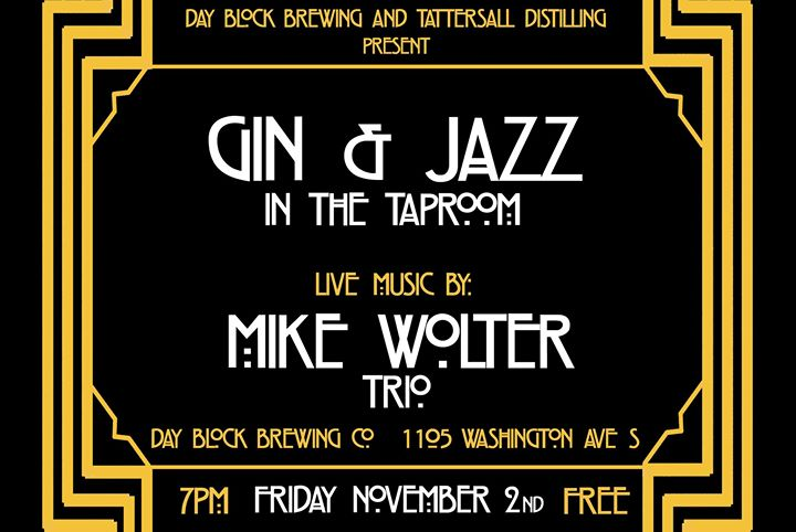 Gin & Jazz featuring Mike Wolter Trio