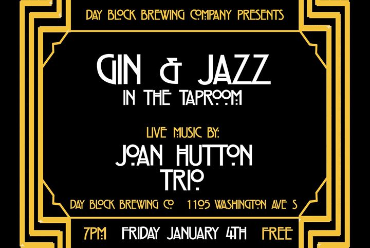 Gin + Jazz w/ Joan Hutton Trio
