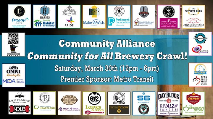 Community for All - Brewery Crawl