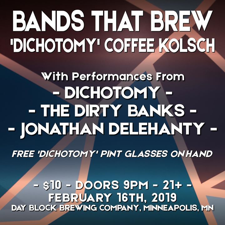 Bands That Brew - 'Dichotomy' Coffee Kolsch at Day Block