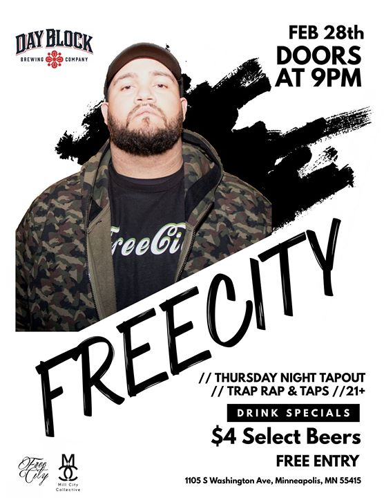 Thursday Night Tapout with free.city
