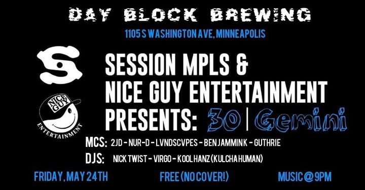 30|Gemini : Session and Nice Guy Ent. presents