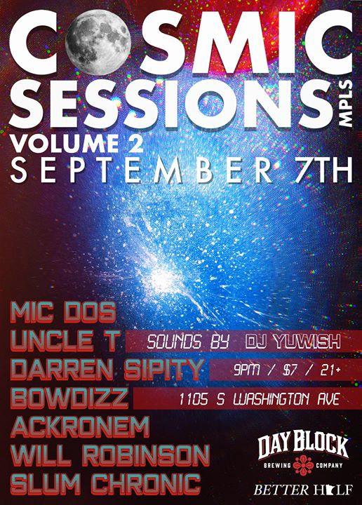 Cosmic Sessions, MPLS Vol. 2