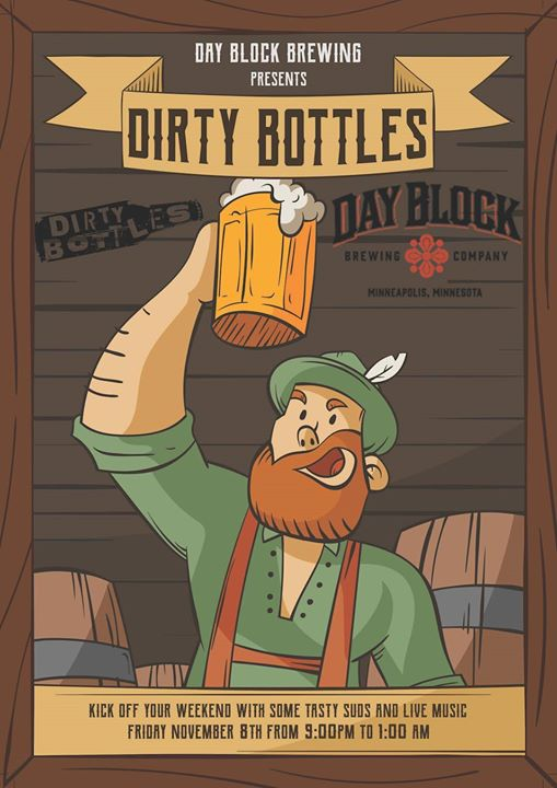 Dirty Bottles at Day Block Brewing