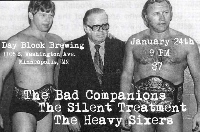 The Bad Companions/The Silent Treatment/The Heavy Sixers