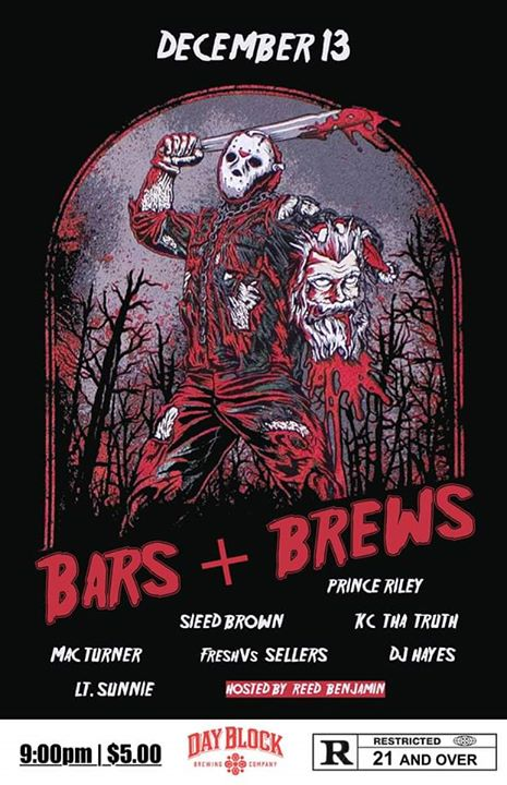 Bars+Brews: Friday the 13th Edition