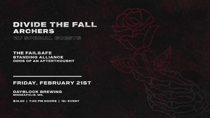 Day Block Brewing Presents: Divide The Fall & Archers
