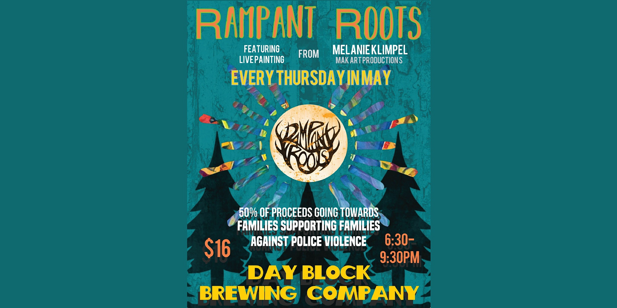 Rampant Roots May 20th (Thursday Gatherings)