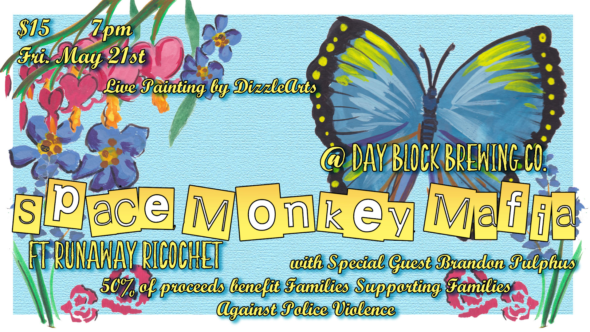 Space Monkey Mafia and Friends at Day Block Brewing