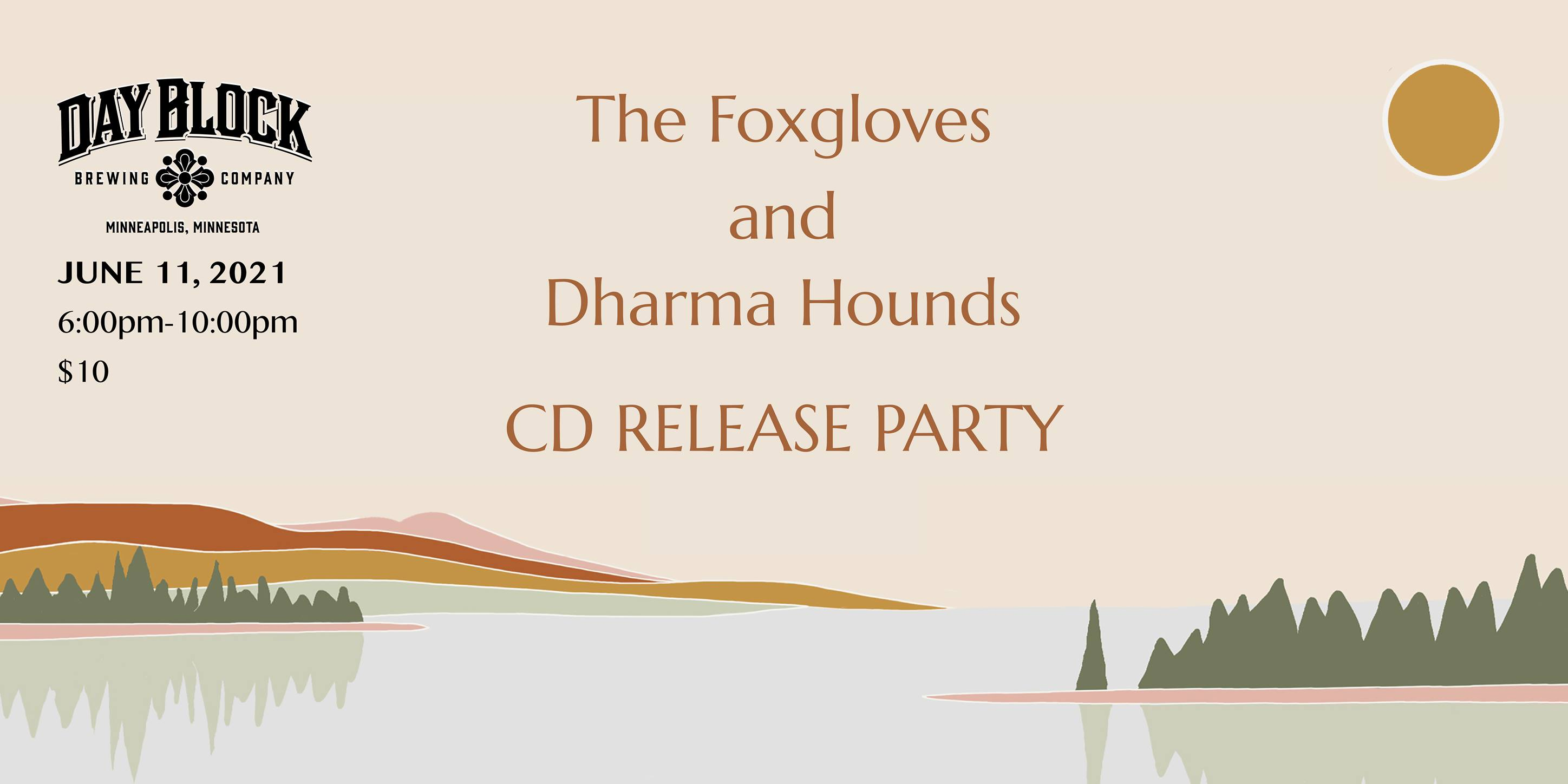 The Foxgloves and Dharma Hounds CD Release Party
