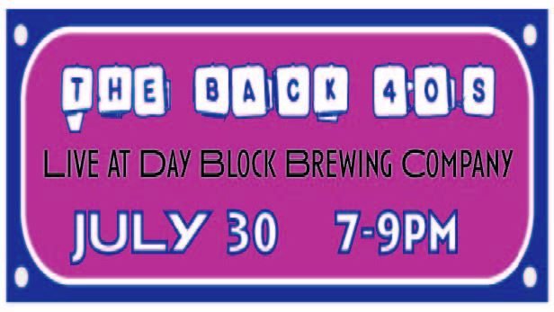 The Back 40s Live at Day Block Brewing